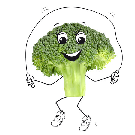 Sporting broccoli