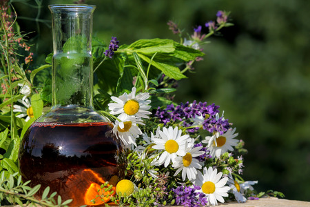Homeopathy and cooking with medical plants