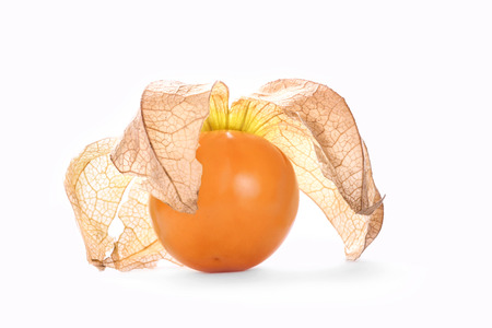 cape gooseberry: Physalis, isolated