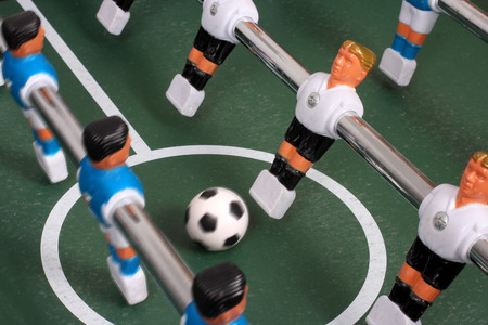 Tabletop soccer