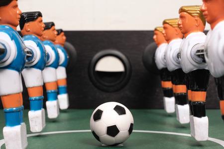 Tabletop soccer photo