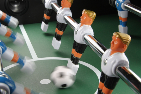 Tabletop soccer photo