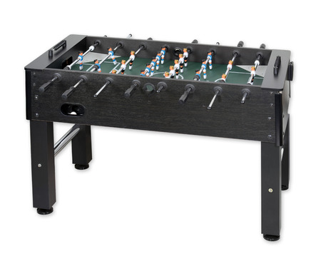 Tabletop soccer, isolated Stockfoto