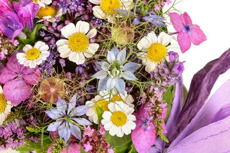 Flower arrangement, table decoration photo