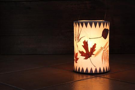Handmade lantern, Martinmas