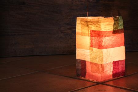 playschool: Handmade paper lantern