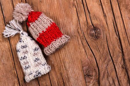 bobble: Knitted bobble hats