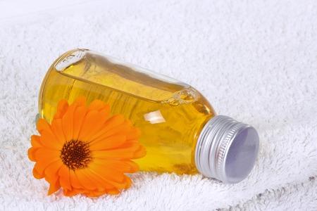 Bathing oil, calendula