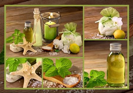 productos naturales: Bienestar con productos naturales Foto de archivo