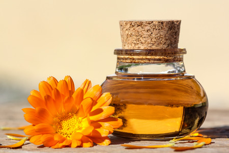 Wellness with calendula