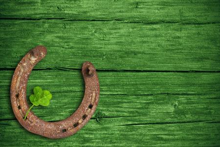 herradura: Día de San Patricio, amuletos de la suerte