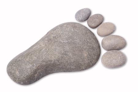 pebbles: Footprint