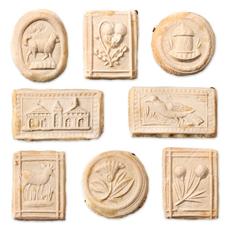 specialty: Swiss specialty cookies, Springerle Stock Photo