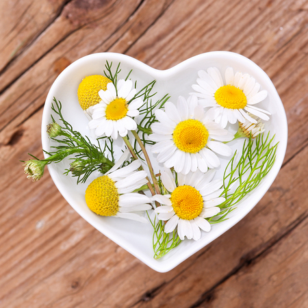 Homeopathy and cooking with chamomile