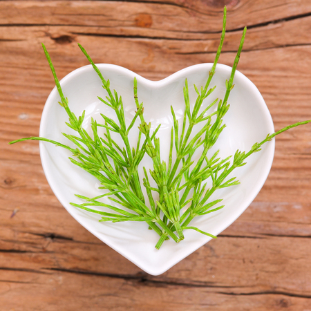 Homeopathy and cooking with horsetail