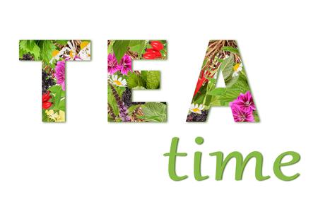 Lettering tea time