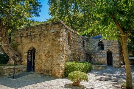 Selcuk, Turkije. Efeze, het huis van de Maagd Maria