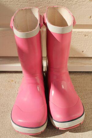 rain boots: Rain boots
