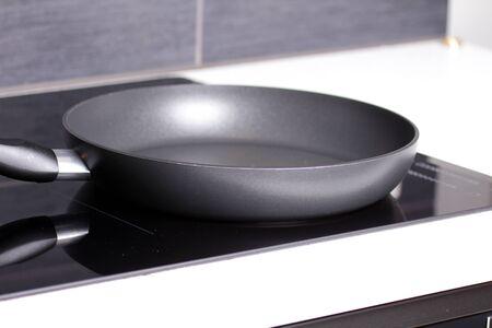 inductive: Frying pan Stock Photo