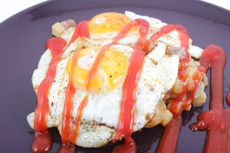staple food: Staple food with fried egg