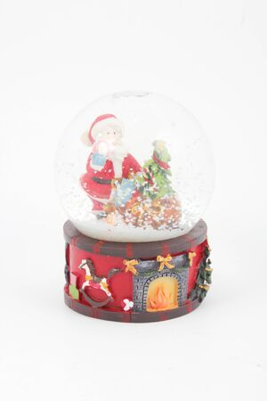 Snow globe Stock Photo - 16655435