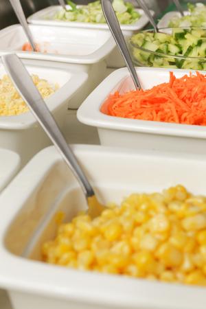 sallad: Sallad buffet