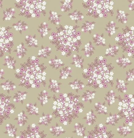fondos colores pastel: patr�n de fondo sin fisuras con flores blancas suaves Vectores