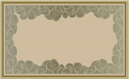 artdeco: abstract background frame in retro art-deco style