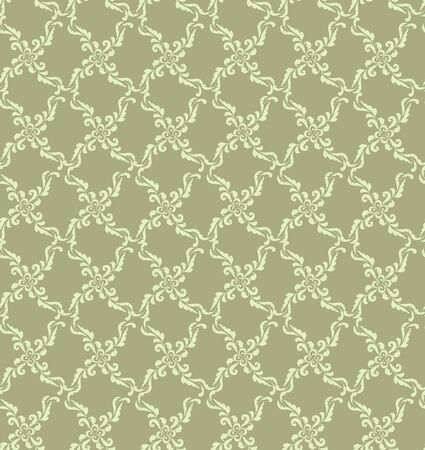 floral seamless pattern  retro background  Vector
