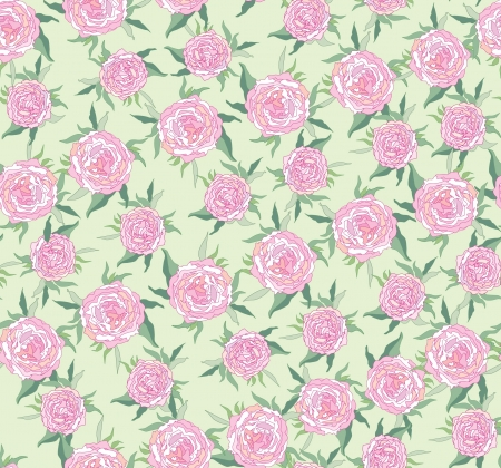 Floral abstract seamless pattern  Flowers rose background