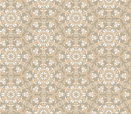 flooring design: floral mosaic seamless pattern   kaleidoskope background  Illustration