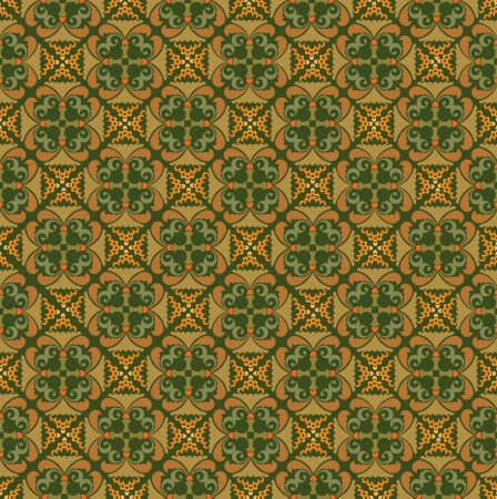 floral pattern motif: floral seamless pattern background, retro style