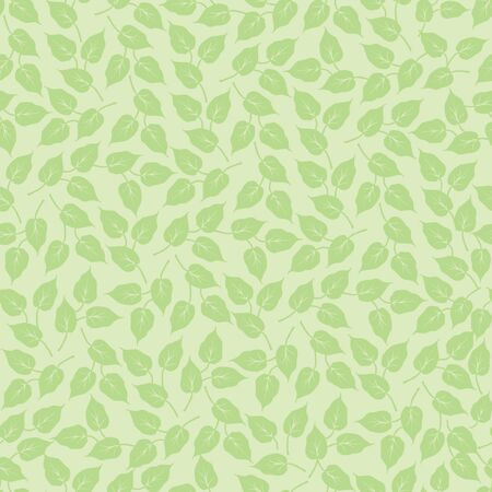 leaves seamless background  Floral pattern  Stock Vector - 16062429