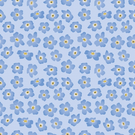 forget me not: floral seamless background  blue flower forget-me-not