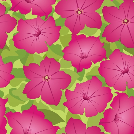 floral seamless background  pink flower pattern Stock Vector - 16139990