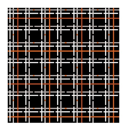Checkered wool fabric seamless pattern Stock Vector - 16227905