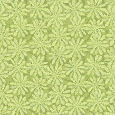 floral seamless pattern  grass background  Vector
