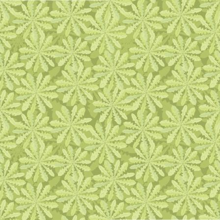flowering field: floral seamless pattern  grass background
