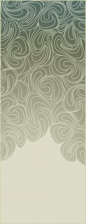 art nouveau design: abstract background frame in the art deco style
