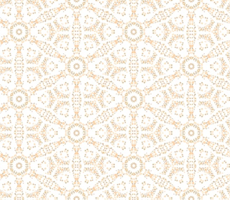 seamless floral mosaic pattern  Abstract background  Vector