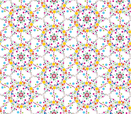 abstract seamless floral lacy pattern background Stock Vector - 16228819