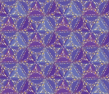 seamless star pattern  sky background  Vector