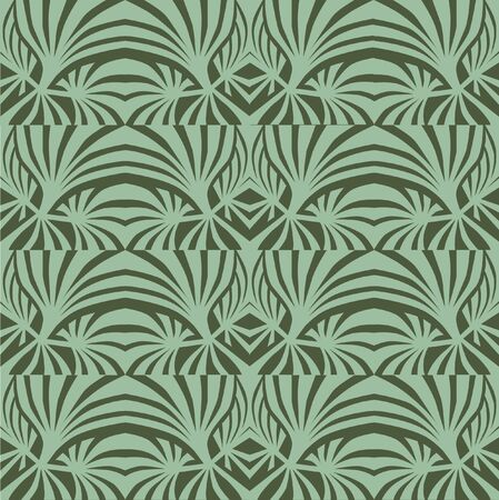 floral seamless pattern. abstract green background Vector