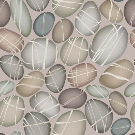 tejas: piedras de guijarros de diferentes formas y colores de fondo sin fisuras