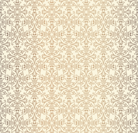 Abstract seamless pattern  Retro background  Vector