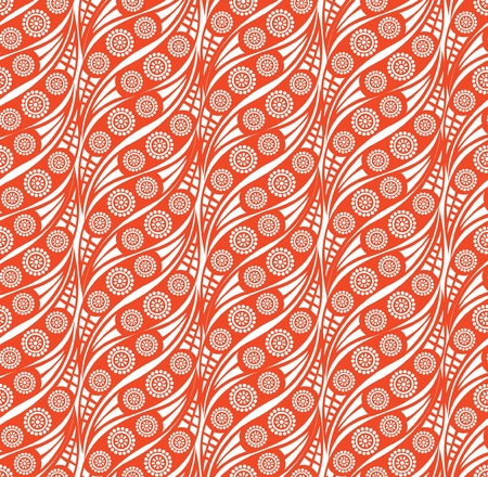 Abstract wavy lined pattern seamless  Vector