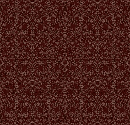 Retro seamless pattern for page decoration  Vintage Ornament background Stock Vector - 16229392