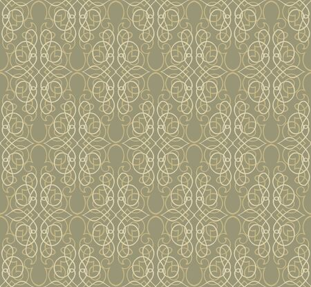 Floral pattern seamless  Vignette retro vector motif background  Vector