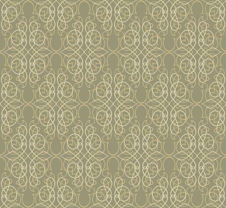 Floral pattern seamless  Vignette retro vector motif background Stock Vector - 16423897