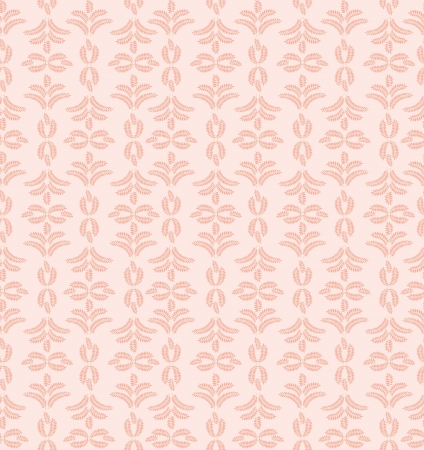 leaves seamless pattern on beige background Stock Vector - 16423991